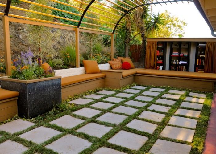 Outdoor Pergola Lounge 5