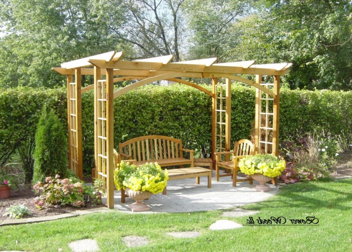 Outdoor Pergola Lounge 6