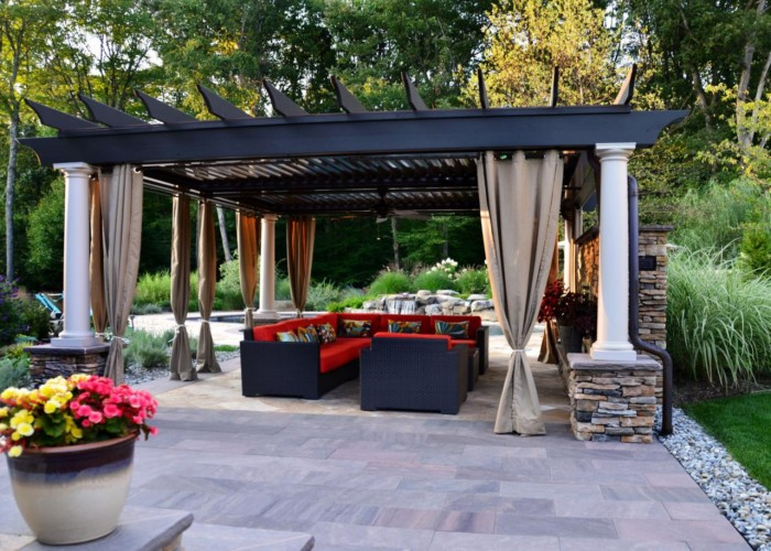 Outdoor Pergola Lounge 7