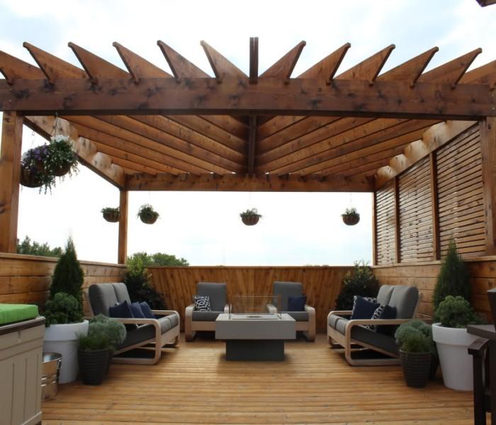 Rooftop Pergolas 4