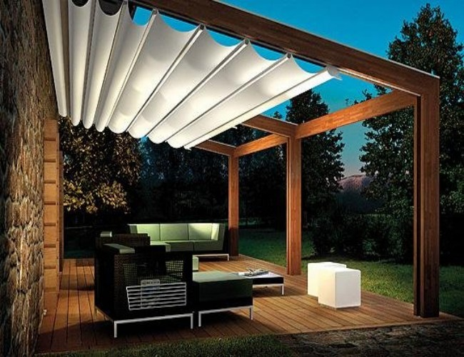 Various Pergola Roof Ideas 1