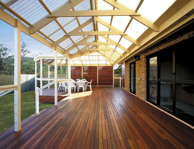 Various Pergola Roof Ideas 4