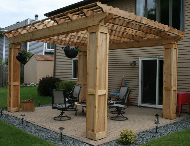 Various Pergola Roof Ideas 6