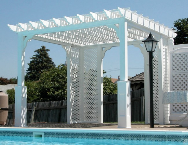 Various Pergola Roof Ideas 9