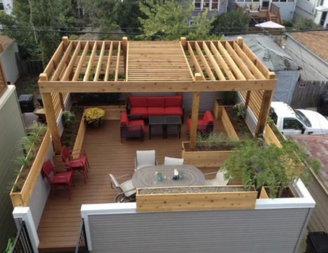 Various Pergola Roof Ideas