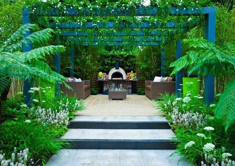 Garden Pergola Designs 15