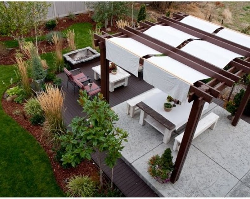 Covered Pergola 7