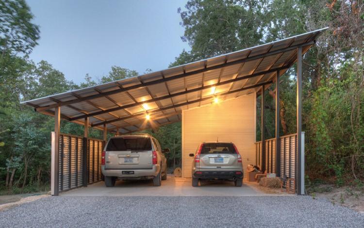 Garage Pergola 4