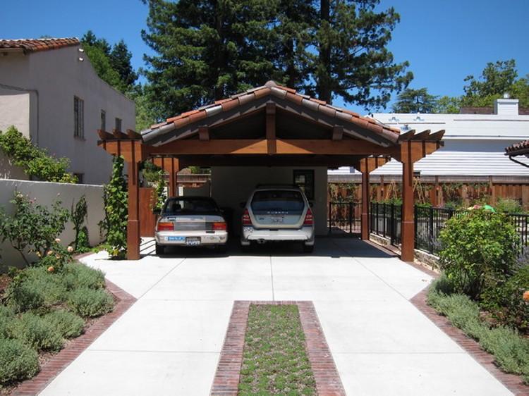 Garage Pergola 5