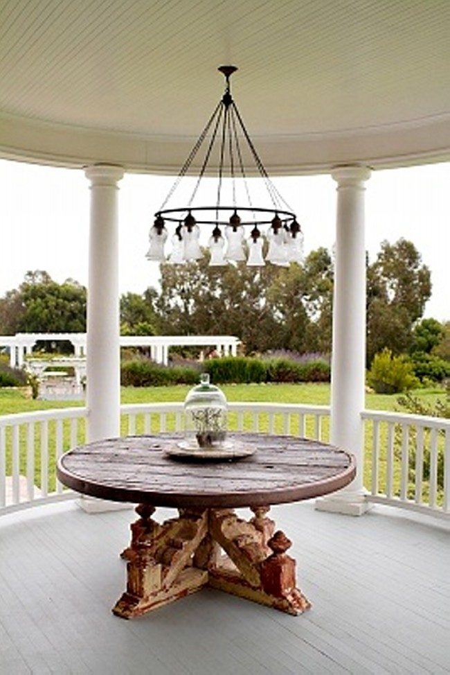 Outdoor Chandeliers for Gazebos 6