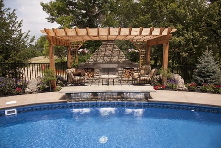 Unique Pool Pergolas 1
