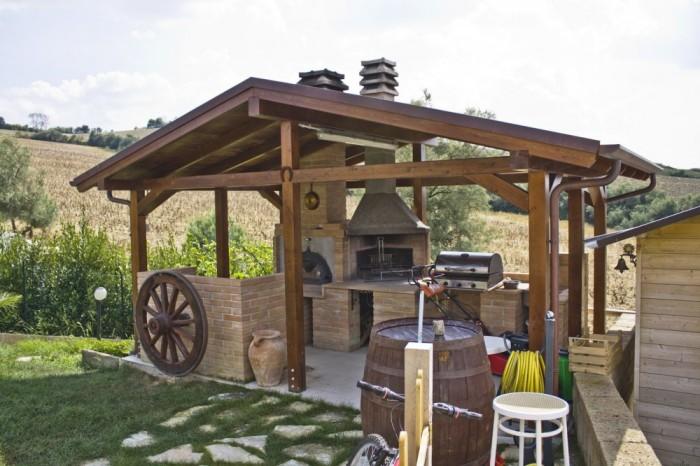 Outdoor Gazebo Kitchen 2