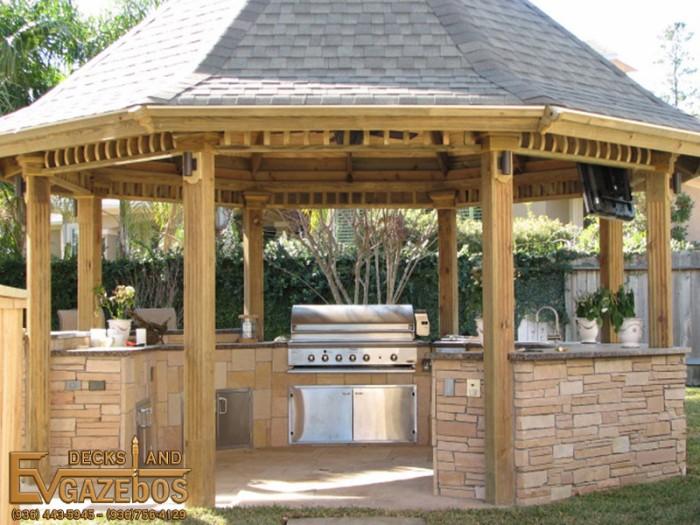 Outdoor Gazebo Kitchen 5