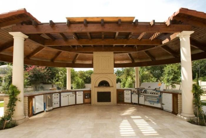 Outdoor Gazebo Kitchen 7