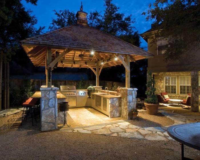 Outdoor Gazebo Kitchen 8