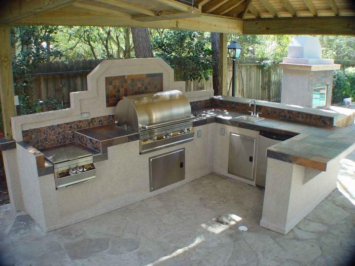 Outdoor Gazebo Kitchen