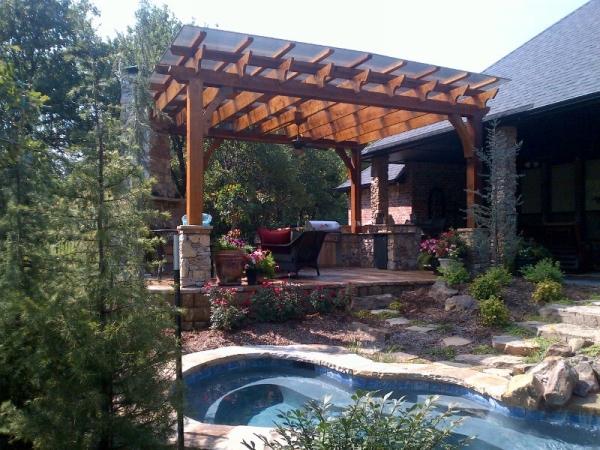 Cover Backyard Pergola 3