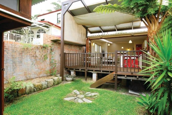 Gazebo Deck on Backyard 1