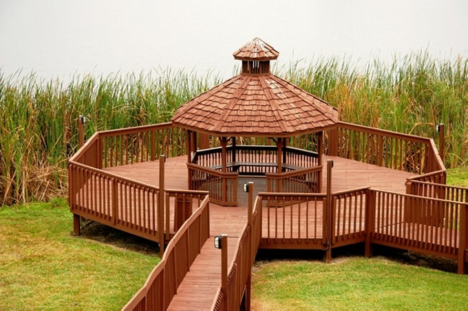 Gazebo Deck on Backyard A Stunning Idea
