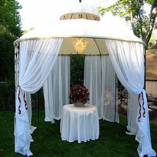 Gazebo Decorating