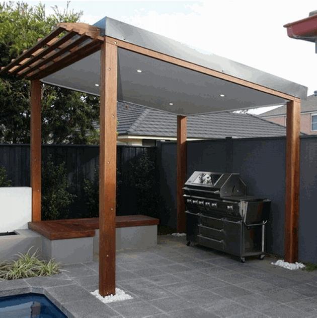 Gazebo Roof Design Ideas 1