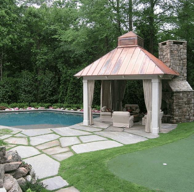 Gazebo Roof Design Ideas 4