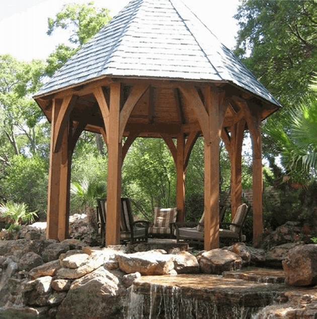 Gazebo Roof Design Ideas 5