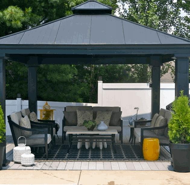 Gazebo Roof Design Ideas 6