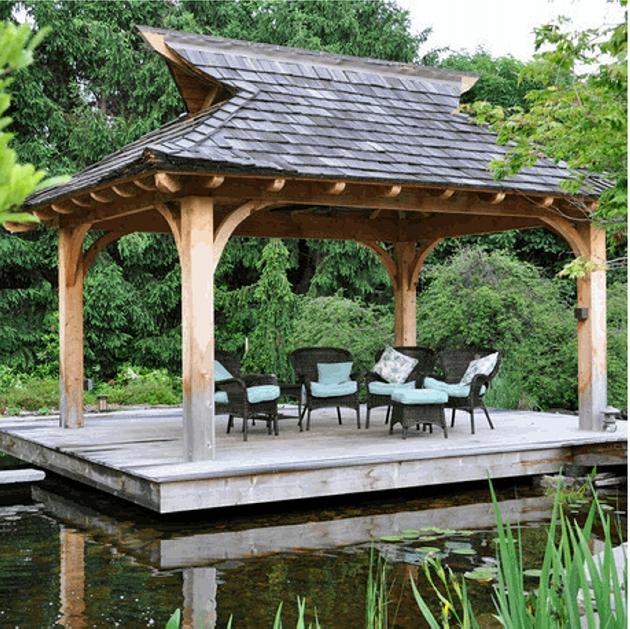 Gazebo Roof Design Ideas 7