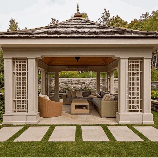 Gazebo Roof Design Ideas 9