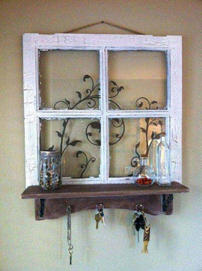 Old Windows For Making Trellises 8