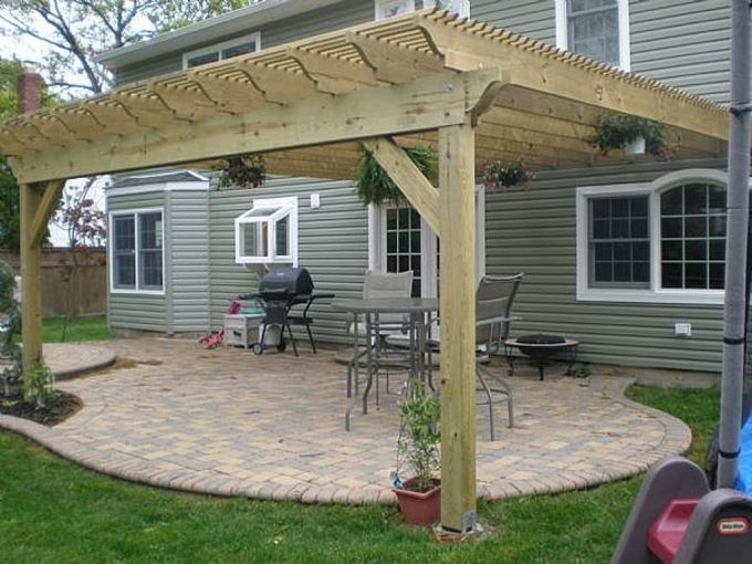 Pergola Attached to House 2