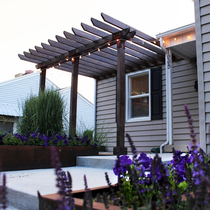 Pergola Attached to House 8
