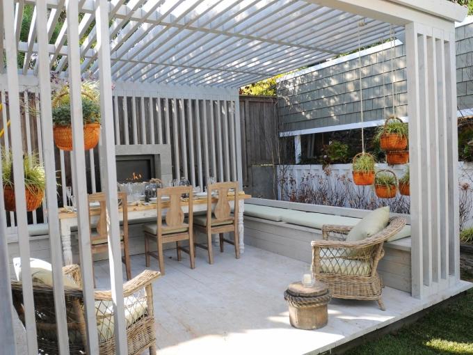 Pergola Outdoor Dining Set 5