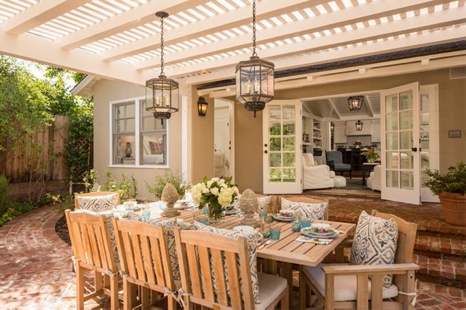 Pergola Outdoor Dining Set 6