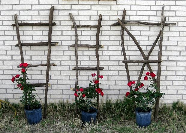 Trellis With Planters 7