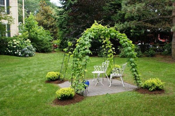 Arbor Landscaping Ideas 7