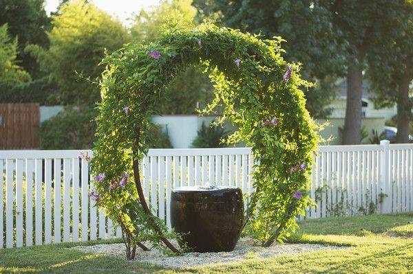 Arbor Landscaping Ideas 8