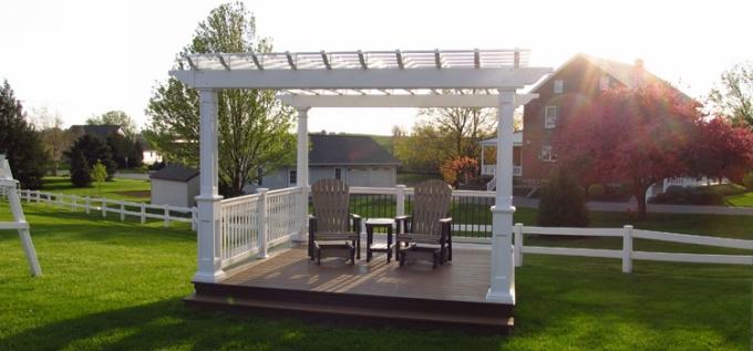 Building a Deck Pergola 11