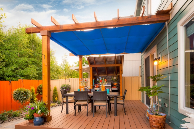 Easy Steps For Building A Deck Pergola Pergola Gazebos
