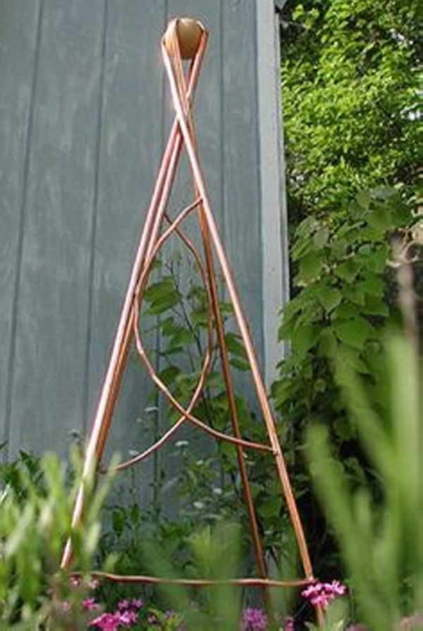 Copper Trellises Ideas 10