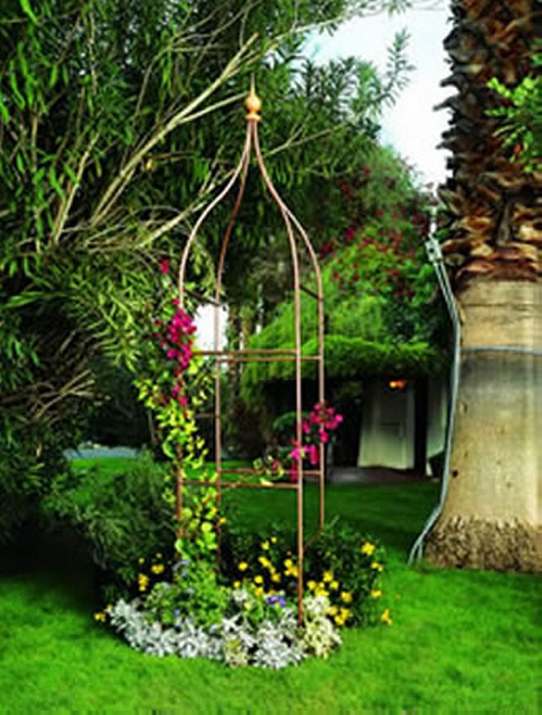 Copper Trellises Ideas 13