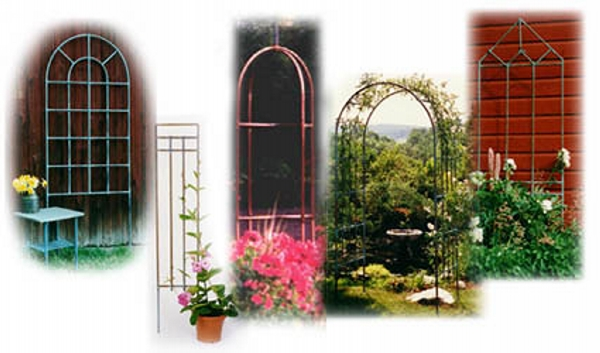 Copper Trellises Ideas 2