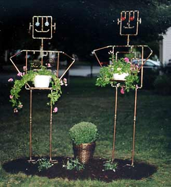 Copper Trellises Ideas 3