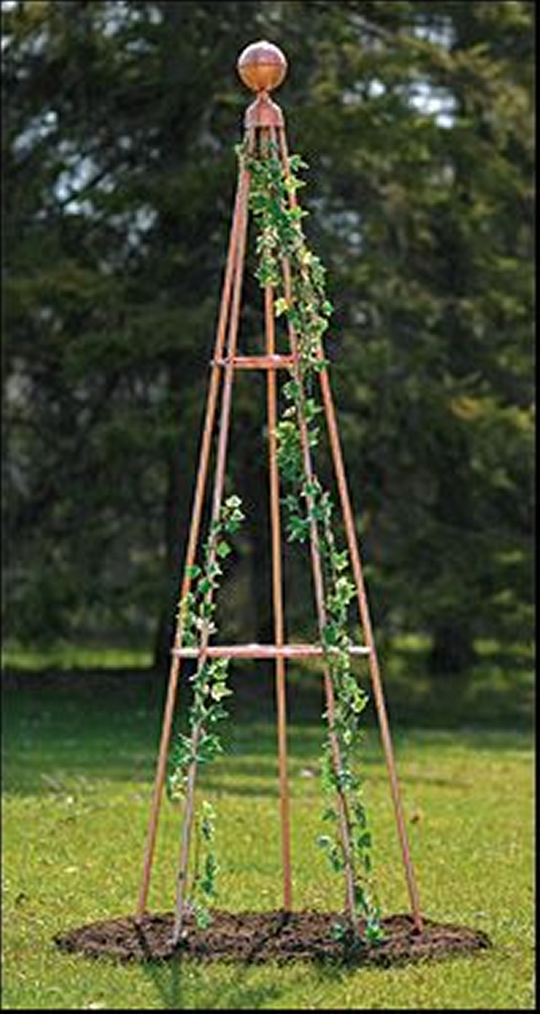 Copper Trellises Ideas 4