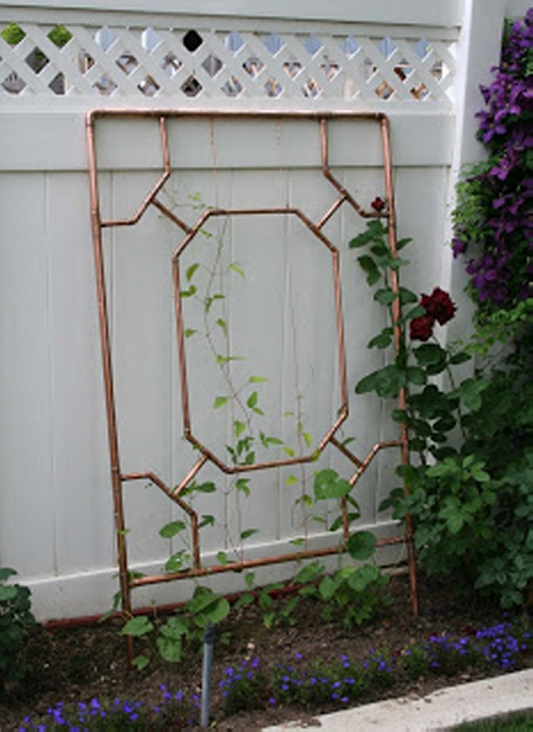 Copper Trellises Ideas 5