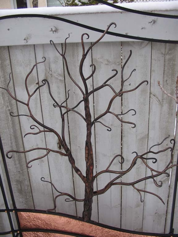 Copper Trellises Ideas 6