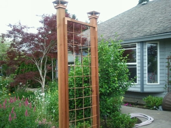 Copper Trellises Ideas 8
