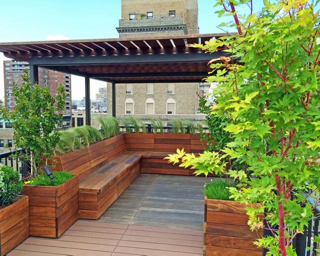 Garden in Pergola Deck 2
