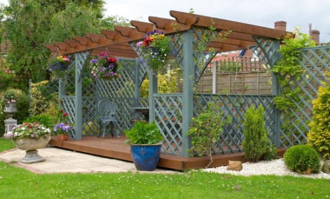 Garden in Pergola Deck 5